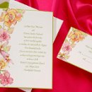 2013 Wedding Invitation Trend - Watercolor Invitation