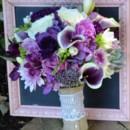 130x130 sq 1457403326776 floral   purple texurized bouquet