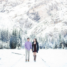 220x220 sq 1505946111151 075yosemite snow engagement session