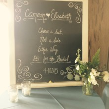 220x220 sq 1431120947719 2 brides ceremony sign