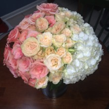 220x220 sq 1431121401872 pink ombre arrangement