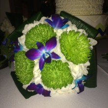 220x220 sq 1431121571073 taylor bridesmaid bouquet