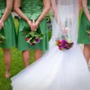 130x130 sq 1476729017895 bride  bridesmaids flowers behind back