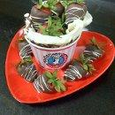 130x130 sq 1354144014553 chocolatecoveredstrawberries