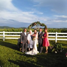 220x220 sq 1474818871606 rev james huff wedding