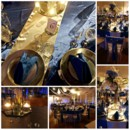 130x130 sq 1415310036366 blue and gold decor collage