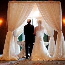 220x220 sq 1394433455806 bliss chuppah1 631x44