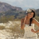 This was shot out in Nelson Landing Nevada for Metropolitan Bride Magazine