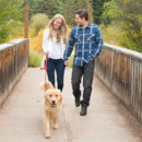 130x130 sq 1448836156401 vail colorado mountain engagement walking dog
