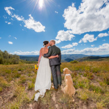 220x220 sq 1444014393000 cordillera point wedding edwards photos with dog
