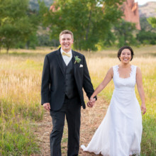 220x220 sq 1444015002179 garden of the gods wedding walking on trail
