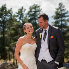 220x220 sq 1444017037786 genesee mountain wedding bride and groom natural m