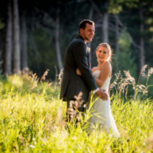 220x220 sq 1444017080131 the pines at genesee wedding couple laughter