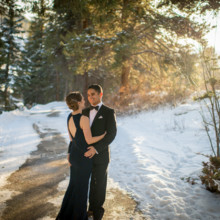220x220 sq 1462143339933 donovan pavilion wedding vail colorado sunset phot