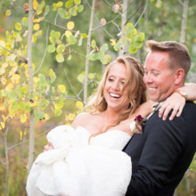 220x220 sq 1507655734168 donovan pavilion aspen trees fall vail co wedding