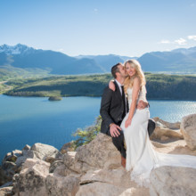 220x220 sq 1507655770074 sapphire point colorado wedding on lake dillon in