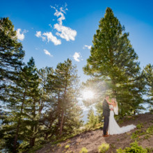 220x220 sq 1507655783503 sapphire point summer mountain wedding colorado