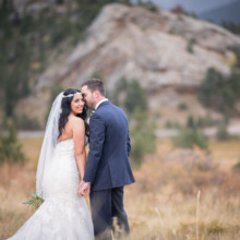 220x220 sq 1507655796323 taharaa mountain lodge fall wedding bride looking