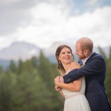 220x220 sq 1507655820134 ymca of the rockies wedding playful couple