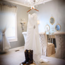 130x130 sq 1387476383141 wedding dress on chandelie