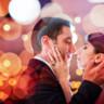 96x96 sq 1432669378120 bride and groom red orange bokeh 1