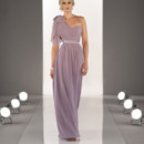 Style 8472 Maid Your Way Convertible Chiffon gown with Satin belt. Features two streamers on the front and two on the back of the dress - drape, twist or wrap the streamers to create more than 18 different looks. With endless possibilities, Maid Your Way is the perfect way to mix up looks to enhance each bridesmaid's unique personality, style and body. Also available in cocktail length as style 8471.