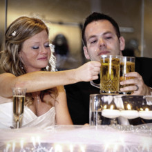 220x220 sq 1374778848060 emotion wedding bride and groom toast columbus central ohio photographer
