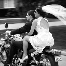 220x220 sq 1374778895138 wedding bride and groom riding motorcycle columbus ohio bly photography