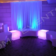 220x220 sq 1505815370227 curved benches with glow cubes