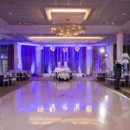 130x130 sq 1475683996063 vinyl dance floorwedding receptionblue uplightsstu