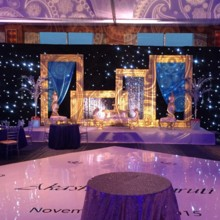 220x220 sq 1475683858869 star night drapeswedding decorvinyl dance floor