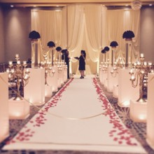 220x220 sq 1475684034374 wedding ceremony with candlesromantic ceremony