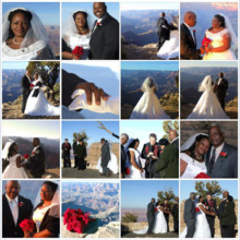 220x220 sq 1397696566210 collage grand canyon weddin