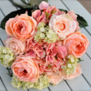 130x130 sq 1372008961498 peach and cream bride bouquet