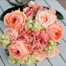 130x130 sq 1372008961498 peach and cream bride bouquet