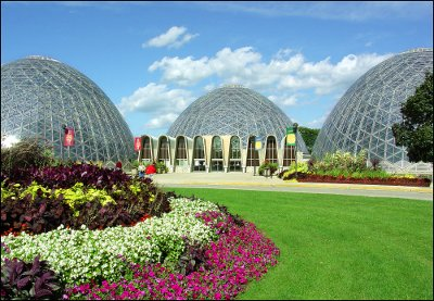 "Mitchell Park Conservatory ""The Domes"""