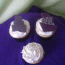 chocolate topper cupcakes and pearl cupcake