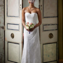David's Bridal Collection  Style WG3263  Sweetheart Strapless Lace Gown