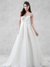Galina Style KP3694  Spaghetti Strap Empire Waist Ball Gown