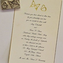 220x220 sq 1330021355748 weddingiinvitationwithhotstampimage