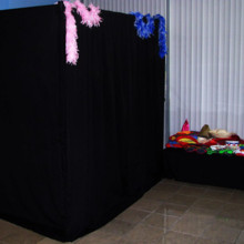 220x220 sq 1377030038114 itegphotobooths   standard photo booth   outside 04