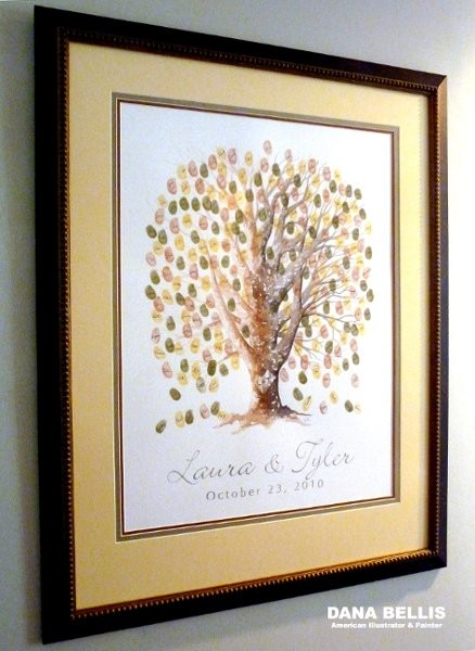 Guest Book Alternatives Thumb Print Tree Amp More Favors Amp Gifts Millersburg Pa