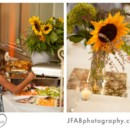 130x130 sq 1396896808047 sunflower wedding centerpiece