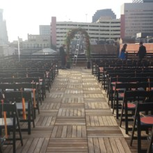220x220 sq 1429289091573 rooftop ceremony setup