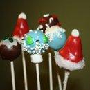 130x130 sq 1344369410336 cupcakenoveltieschristmascakepopsassortment