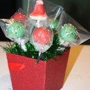 130x130 sq 1344369437910 cupcakenoveltieschristmascakepopsbouquet5