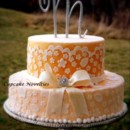 130x130 sq 1365172108041 cupcake novelties vintage ivory wedding cake