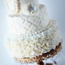 130x130 sq 1389484417263 vintage ivory ruffles quatrefoil pearls wedding ca