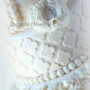 130x130 sq 1389484423492 vintage ivory ruffles quatrefoil pearls wedding ca