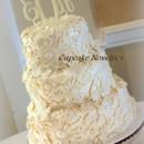 130x130 sq 1389484433924 vintage ivory wedding cake cupcake noveltie